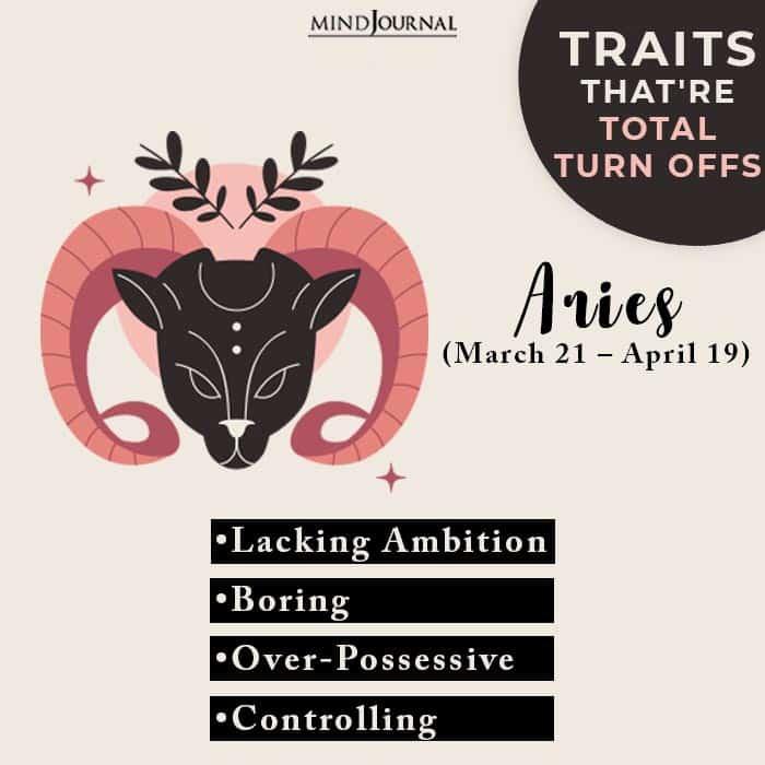 turn offs aries