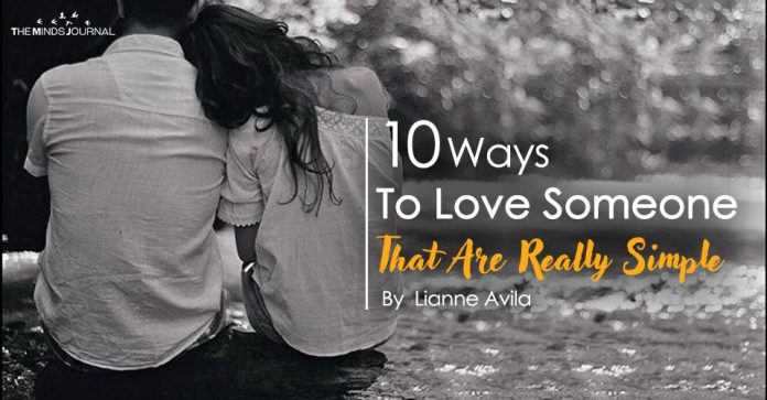 10 Ways To Love Someone (That Are Really Simple)