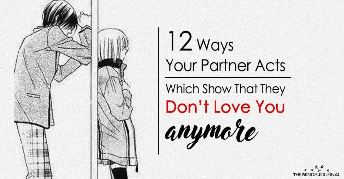 12 Ways Your Partner Acts Which Show They Don't Love You Anymore