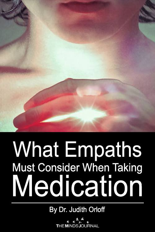 What Empaths Must Consider When Taking Medication Pin