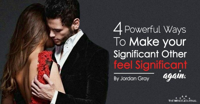how to make someone feel significant