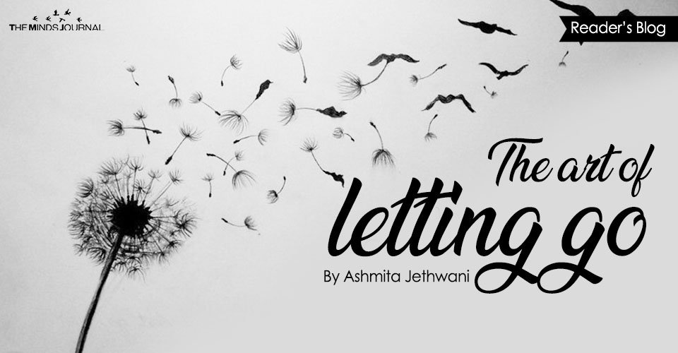 The art of letting go....