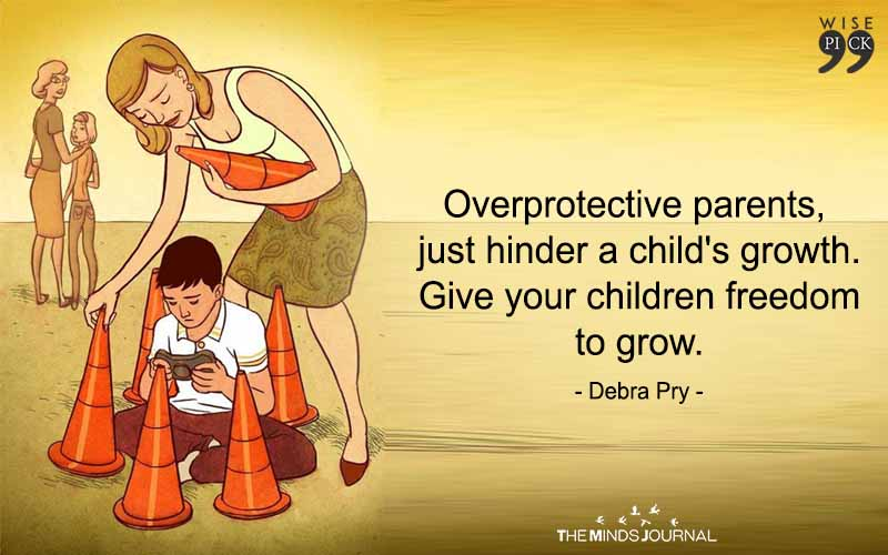 Overprotective Parents,Just Hinder A Child's Growth