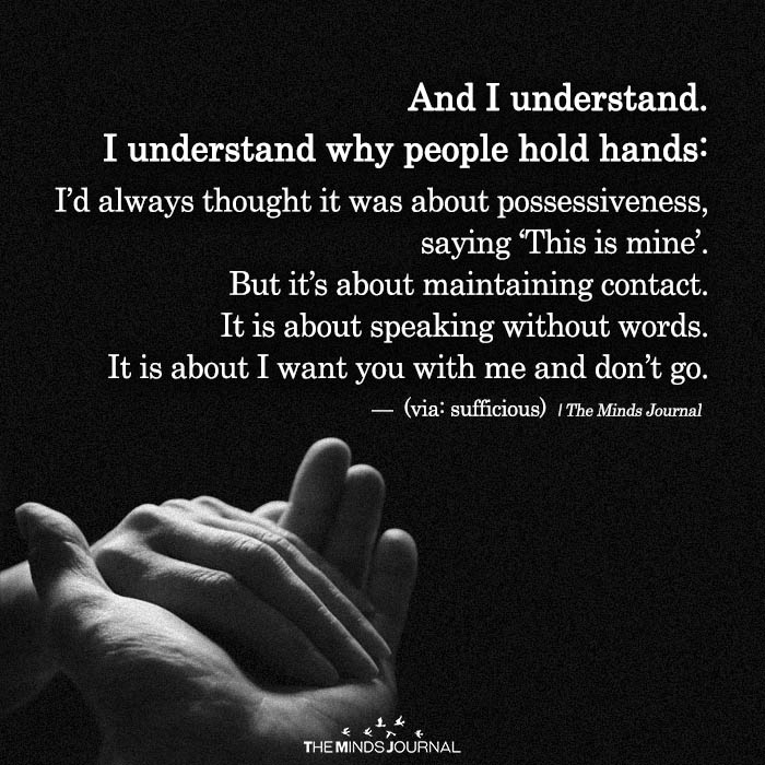And I Understand