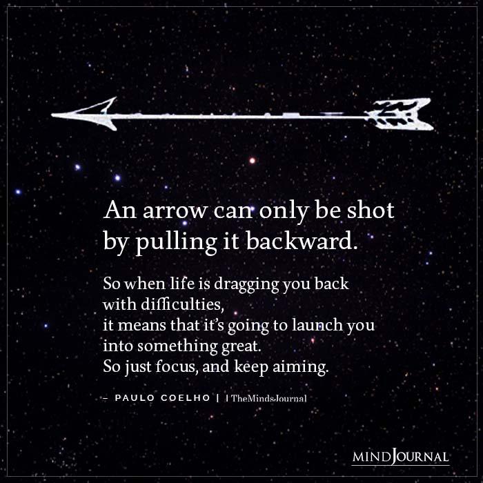 Arrow Can Be Shot Pulling Backward