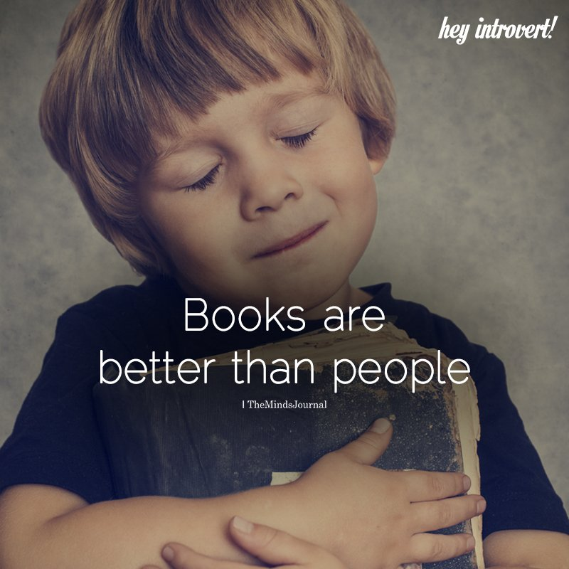 Books Are Better Than People