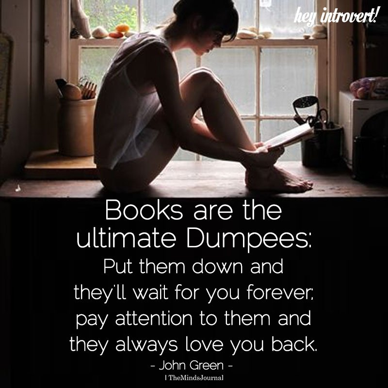 Books Are The Ultimate Dumpees