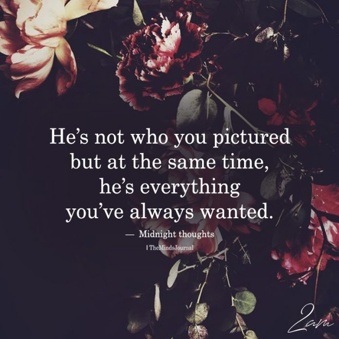 He's Not Who You Pictured