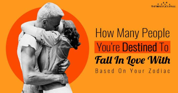 How Many People You Are Destined to Fall In Love With Based On Your Zodiac