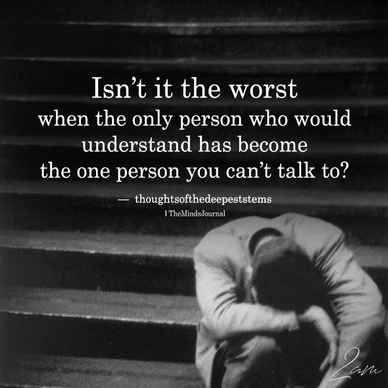 Isn't It The Worst