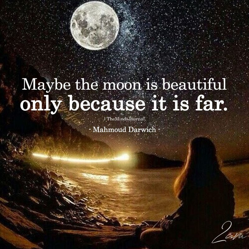 Maybe The Moon Is Beautiful