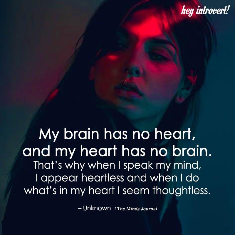My Brain Has No Heart