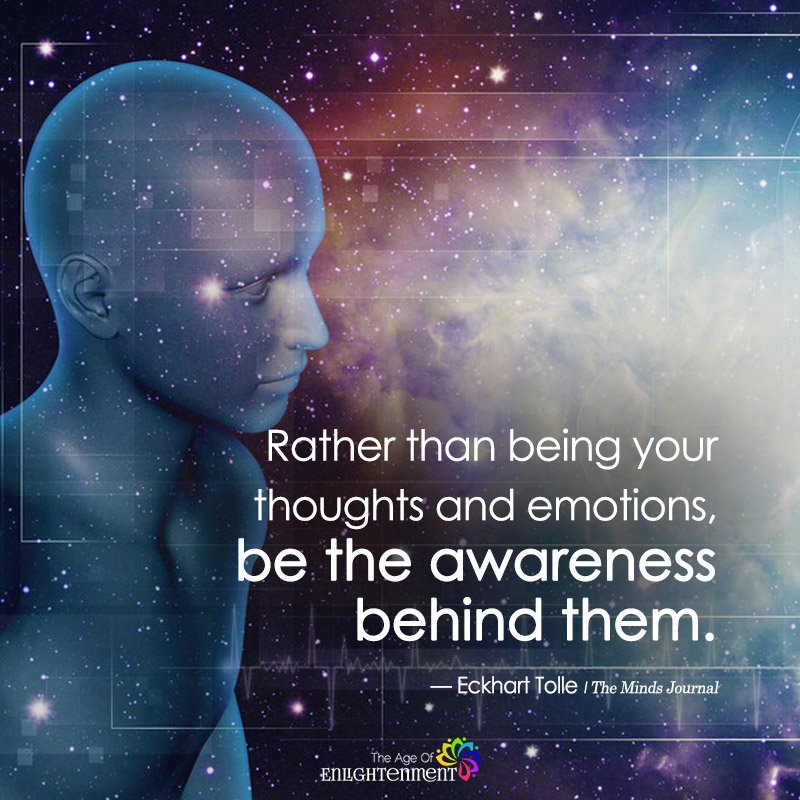 Rather Than Being Your Thoughts