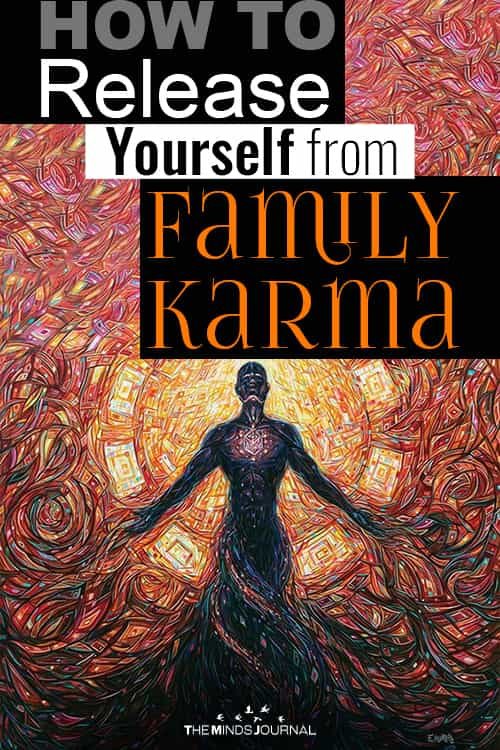 Release Yourself from Family Karma pin
