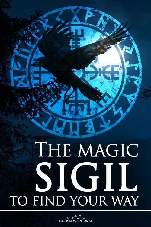 Sigil Magic Vegvisir, the Icelandic compass to find your way