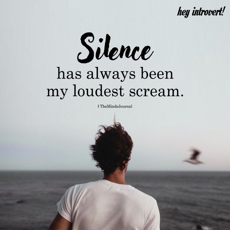 What Does An Introvert's Silence Speak?