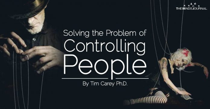 Solving the Problem of Controlling People