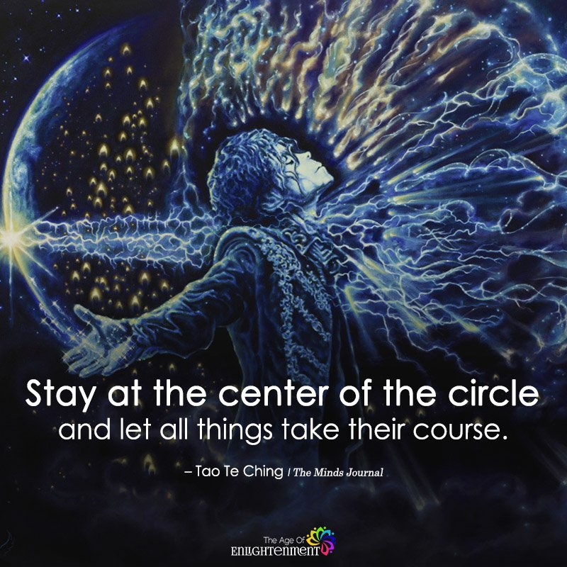 Stay At The Center Of The Circle