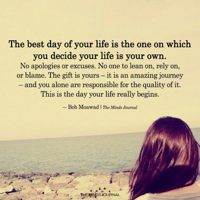 The Best Day Of Your Life Is