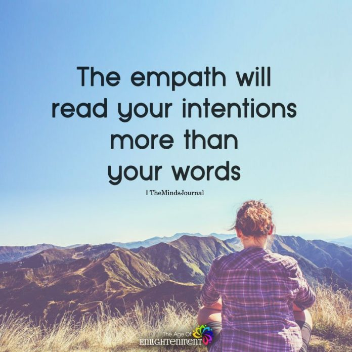 The Empath Will Your Intentions