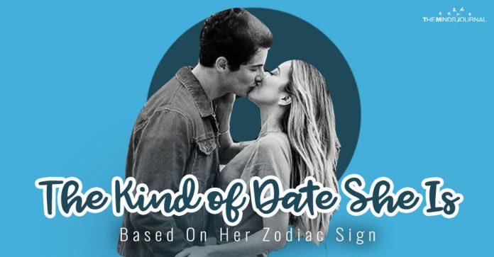 The Kind of Date She Is Based On Her Zodiac Sign