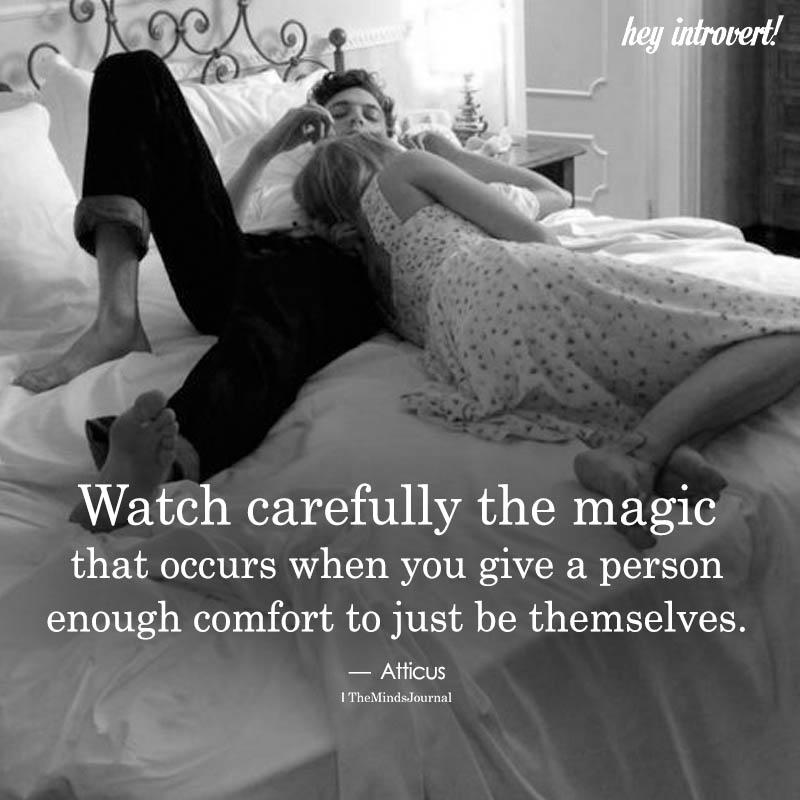 Watch Carefully The Magic