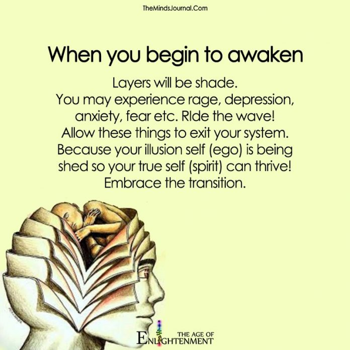 When You Begin To Awaken