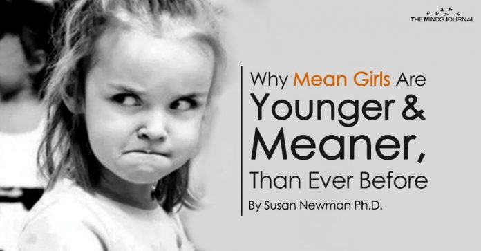 Why Mean Girls Are Younger, and Meaner, Than Ever Before
