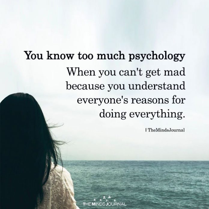 You Know Too Much Psychology