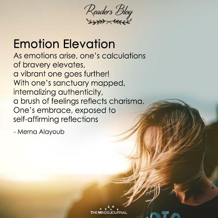 emotion elevation