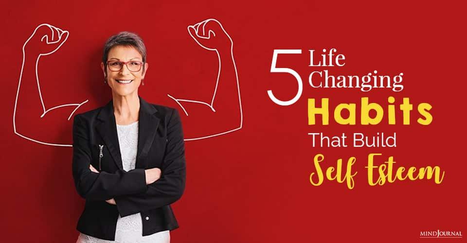 habits build self esteem
