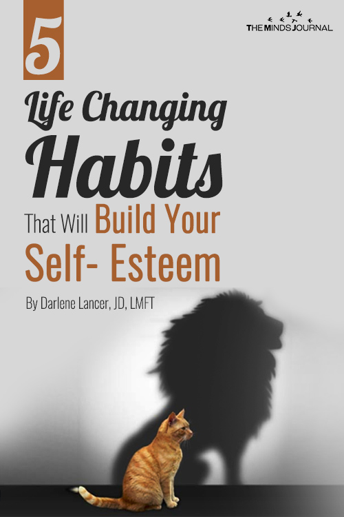 habits build self esteem pin