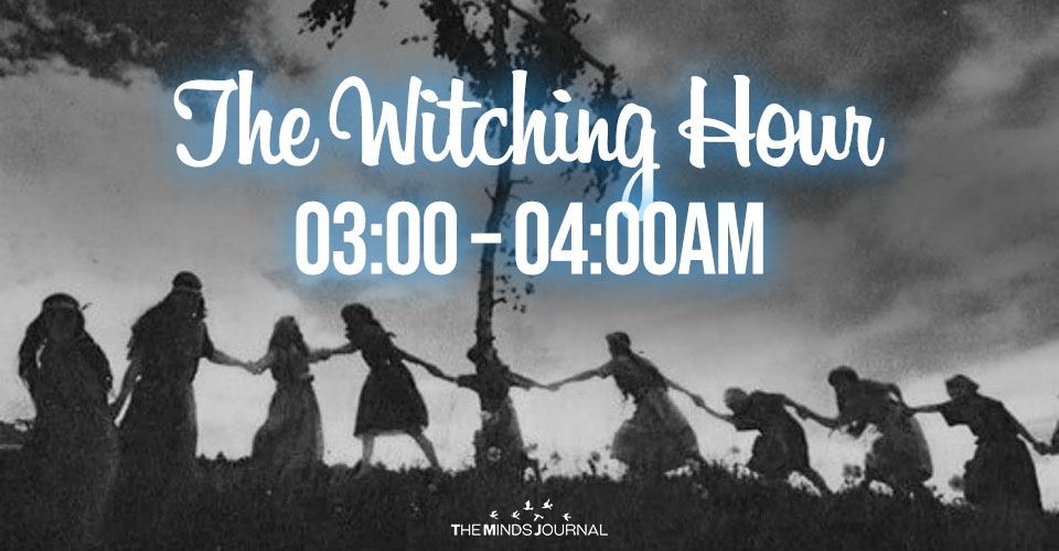 The Witching Hour – Weird things happen between 03:00 – 04:00AM
