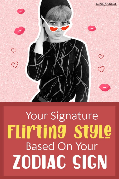 your signature flirting style pinop