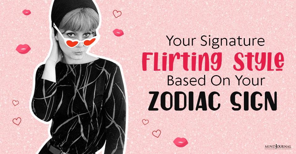 your signature flirting style