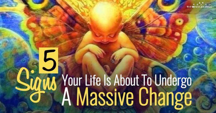 undergo a massive change