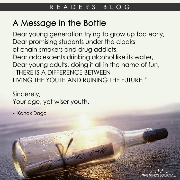 A Message in the Bottle