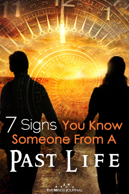 7 Signs You Know Someone From A Past Life