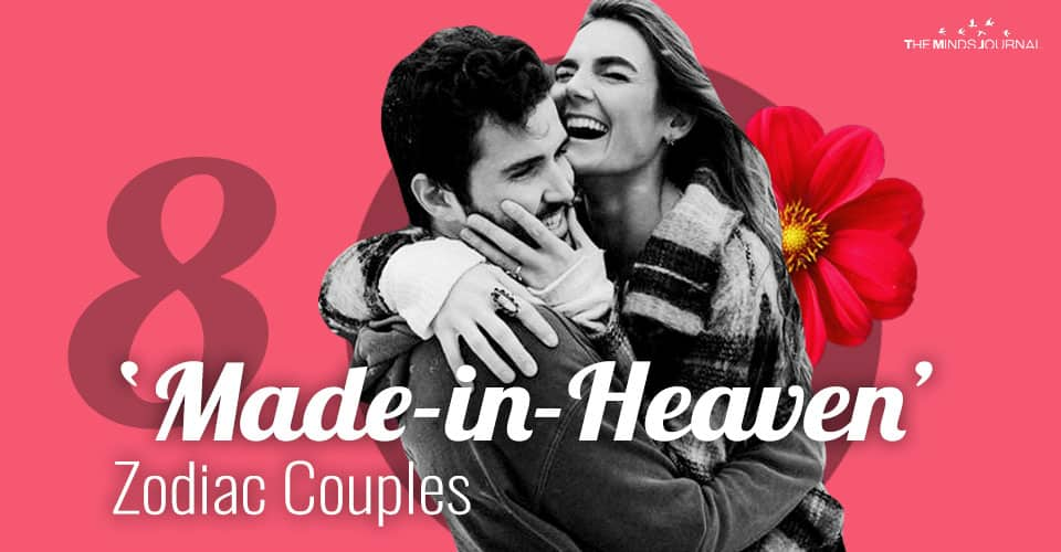 8 'Made-in-Heaven' Zodiac Couples