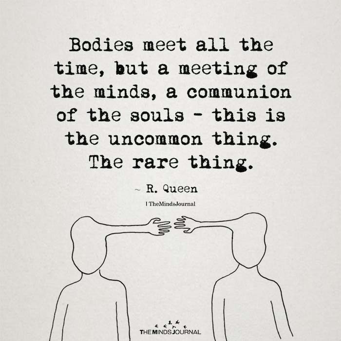 Bodies Meet All The Time