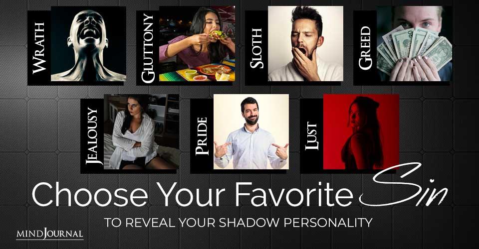Choose Favorite Sin Reveal Shadow Personality