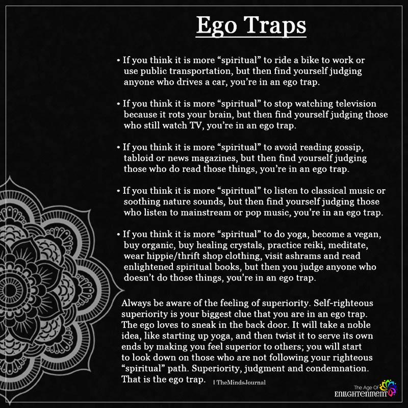 Ego Traps