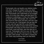 Find People Who Can Handle Your Darkest Truths