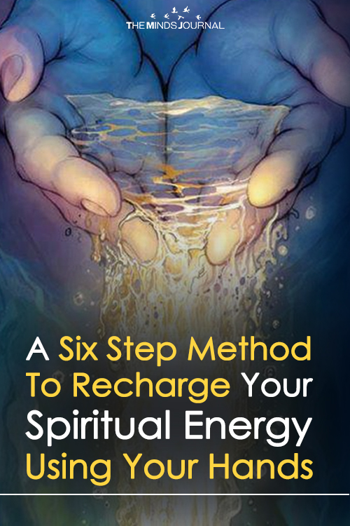 How to Recharge Your Spiritual Energy Using Your Hands