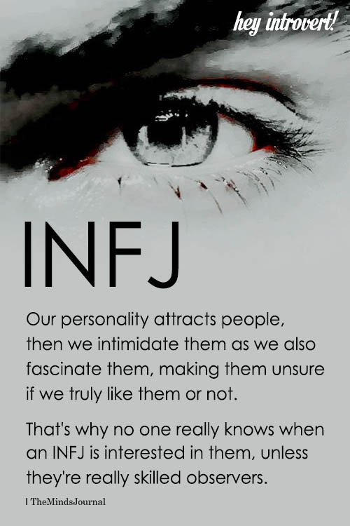 INFJ Our Personality Attracts People