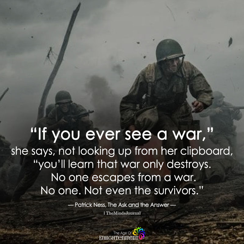 If You Ever See A War