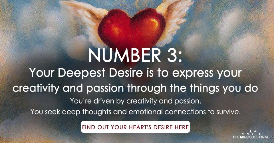 Know What Your Heart Truly Desires According to Numerology