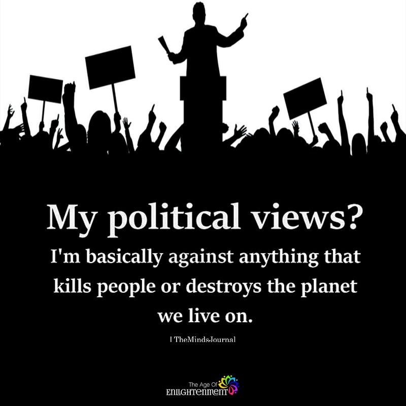 My Political Views