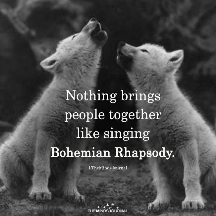 Nothing Brings People Together Like Singing