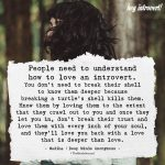 People Need To Understand How to Love An Introvert
